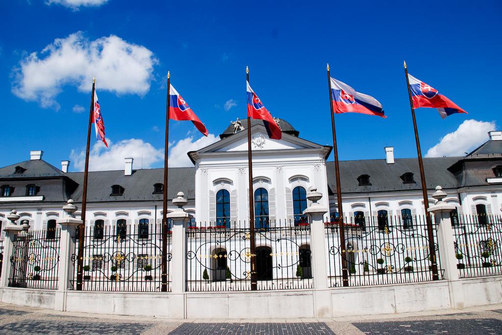 Grasalkovicov palac bratislava Slovakia